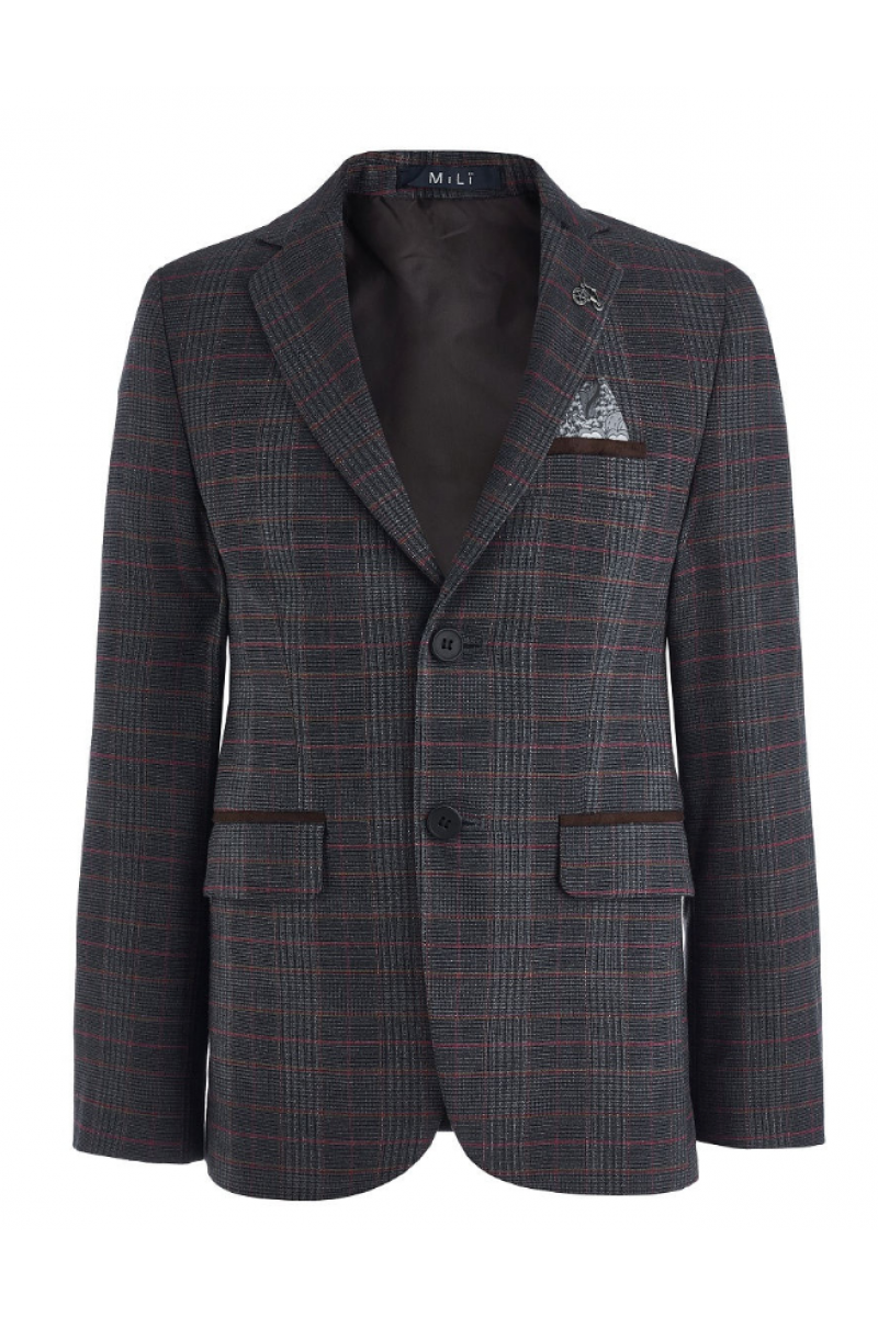 Пиджак для мальчика нарядный разноцветный