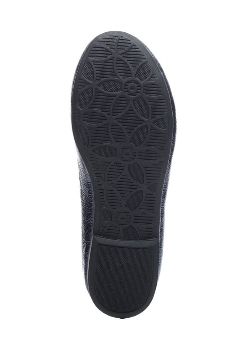 Туфли для девочки темно-синие