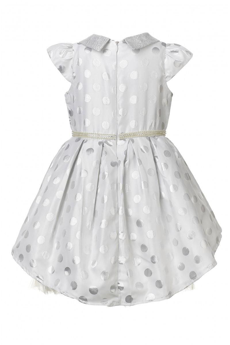 Нарядное многослойное платье